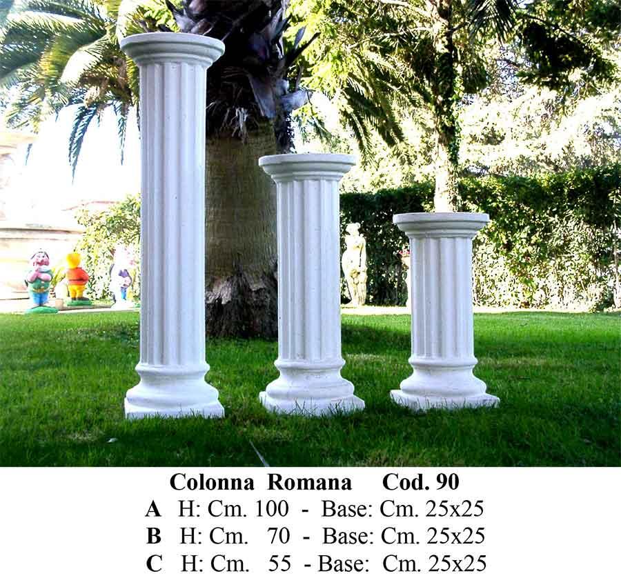 Colonne la casa del giardino snc di paniccia emiliano e for Colonne da giardino